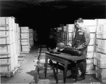 Harry Ettlinger in the Heilbronn-Kochendorf salt mines